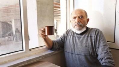Yok böyle apartman: İnşaata bitişik evinin balkonunda çay keyfi! İstanbul Şişli'de apartmanın içine giren apartman inşaatı