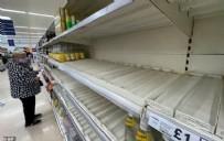İngiliz halkı, temel gıdaları satın almakta zorluk yaşıyor