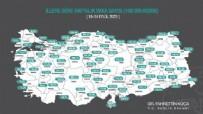Sağlık Bakanı Koca illere göre haftalık vaka sayısı haritasını paylaştı
