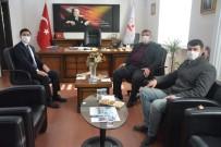 Başkan Alp'ten Yeni Kaymakam Başoğlu'na Hayırlı Olsun Ziyareti