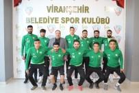 Başkan Ekinci'den Futbolculara Moral Ziyareti