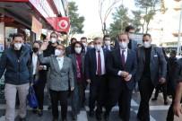 Şanlıurfa Esnafı Sorunlarını Bakan Pekcan'a Anlattı