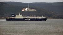 Çanakkale'de Yanan 'Gallipoli Seaways' İsimli Ro-Ro Gemisi, İstanbul'a Dönüyor