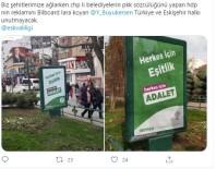 HDP Afişi Bulunan Bilborda Saldırı