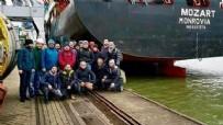 GABON - Kurtarılan Türk gemiciler büyükelçilikte