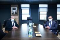 Alpu Belediye Başkanı Güller'den, Başkan Küpeli'ye Ziyaret