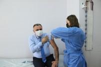 Başkan Cabbar Korona Virüs Aşısı Oldu