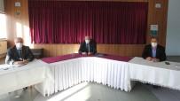 Başkan Pekmezci, Birim Amirleriyle Değerlendirme Toplantısı Düzenledi