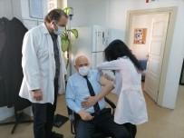 Başkan Pekmezci Covid-19 Aşısı Oldu