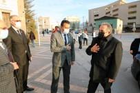 Başkan Yalçın'dan Şehitler Derneği'ne Gara Ziyareti
