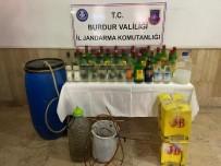 Burdur'da Sahte İçki İmal Eden 2 Kişi Yakalandı