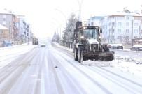 Karaman Belediyesinde Kar Mesaisi