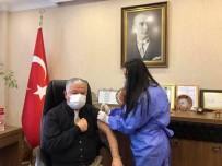 Kaymakam Murat Duru Korona Virüs Aşısı Oldu