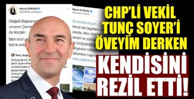 CHP'li Vekil Tunç Soyer'i överken rezil oldu!