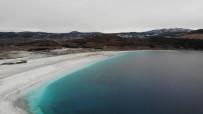 Azalan Yağışlar, Salda Gölü'nü Kuruma Tehlikesi İle Karşı Karşıya Bırakıyor