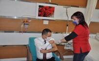 Çanakkale Valisi Aktaş Covid-19 Aşısı Oldu