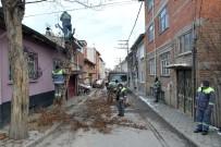 Tepebaşı'nda Ağaç Budama Çalışmaları Sürüyor