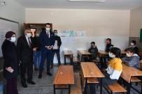 Yüz Yüze Eğitime Başlayan Öğrencileri Ziyaret Ettiler