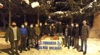 Tomarza Ülkü Ocakları Cemaati Kandil Simidi Dağıttı