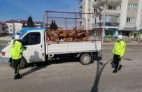 Burdur'da 4 Günde 23 Araç Trafikten Men Edildi, 100 Sürücüye Ceza Yazıldı