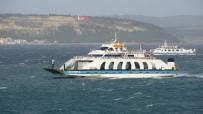 Çanakkale'de Lodos Deniz Ulaşımını Etkiliyor