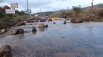 Çanakkale'de Şiddetli Yağış Hayatı Olumsuz Etkiledi