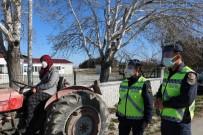 Jandarma , Traktör Kullanacak Sürücülere Kurs Düzenledi