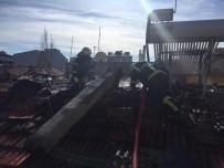 Müstakil Evde Çıkan Yangın Zarara Yol Açtı