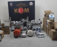 Çankırı'da Kaçak Tütün Operasyonu Açıklaması 190 Kilogram Ele Geçirildi