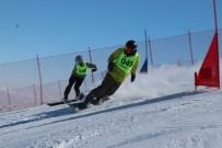 Erciyes'te Snowboard Rüzgarı