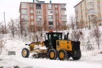 Bayburt'ta Karla Mücadelede Yoğun Mesai