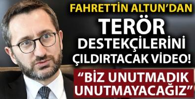 İletişim Başkanı Fahrettin Altun PKK'nin sivil katliamlarını bir kez daha hatırlattı!