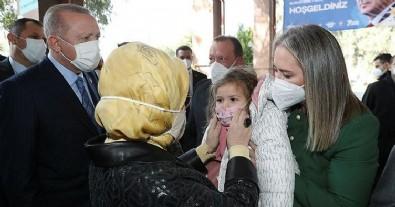Başkan Erdoğan'dan Ayda Bebek'e ziyaret