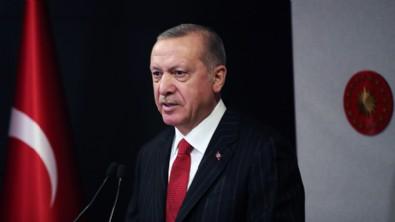 Başkan Erdoğan temel atma töreninde konuşuyor