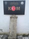 Çanakkale'de Milatta Önce 1. Yüzyıla Ait Mezar Steli Ele Geçirildi
