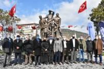 HASAN ARSLAN - Edremit Belediyesi'nin yaptırdığı heykel açıldı