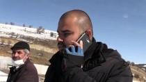 Yozgat'ta Buz Tutan Göletteki Kuşu İtfaiye Kurtardı