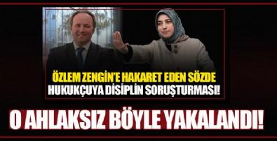 AK Parti Grup Başkanvekili Özlem Zengin'e hakaret eden Mert Yaşar adliyeye sevk edildi!