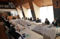 Vali Epcim İle Başkan Pekmezci, KUDAKA'nın 132. Toplantısına Katıldı
