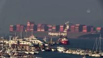 Çanakkale Boğazı Dev Gemilerin Geçişi Nedeniyle 14 Saat Tek Yönlü Trafiğe Kapandı