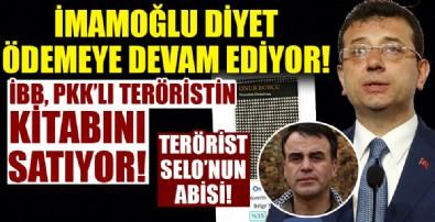 İBB'den yeni skandal! Teröristin kitabını satıyorlar!