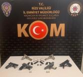 Rize'de Silah Kaçakçısı 4 Kişi Gözaltına Alındı