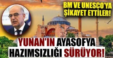 Yunanistan Türkiye'yi BM ve UNESCO'ya şikayet etti!