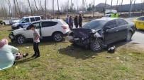 Cip İle Otomobil Kafa Kafaya Çarpıştı, Kazada Karı Koca Yaralandı
