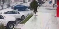 Hamile Sokak Köpeğinin Üzerinden Arabayla Geçti