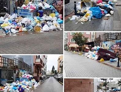 Maltepe'de çöp şöleni! CHP'den 1990'ları özleyenlere dev hizmet!
