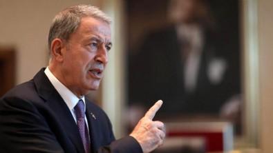 Milli Savunma Bakanı Hulusi Akar'dan flaş açıklamalar!