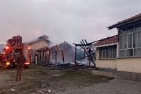 Besi Damında Çıkan Yangın Kısa Sürede Söndürüldü