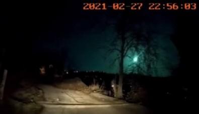 Karadeniz'e meteor düştü! O anlar böyle görüntülendi!