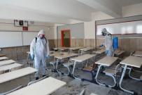 Melikgazi Belediyesi Eğitim Öncesi Okulları Dezenfekte Etti
